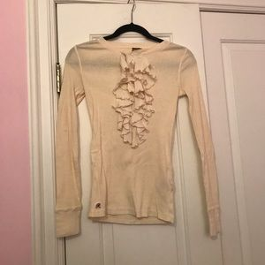 Rugby ruffle top